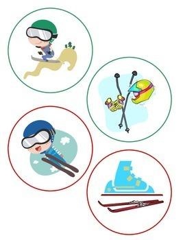 Sorting- Winter (Olymplic) Sports Match