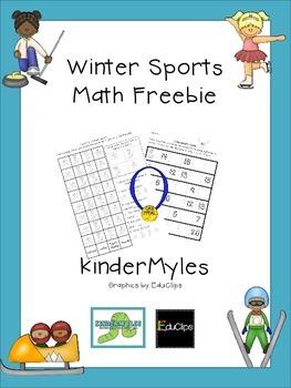Winter Sports Math {Freebie}