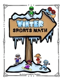 Winter Sports Math - Olympics Real-World Problem Solving 4th, 5th, & 6th