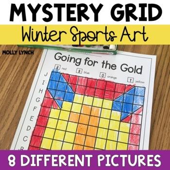 Winter Sports Mystery Grids