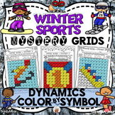 Winter Sports Mystery Grids (Dynamics)