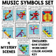Winter Sports Mystery Grids (Music Symbols)