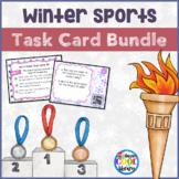 Winter Sports Task Cards Bundle