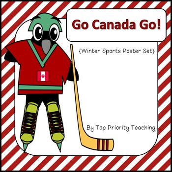 Winter Sports Poster Set - Canadian Version