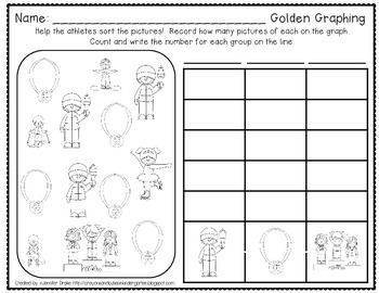 Winter Sports 'Print and Go!'  ~20 ELA & Math Printables PLUS Answer Keys~