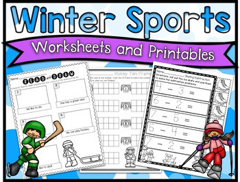 Winter Sports Printables