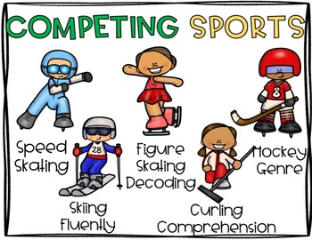 Winter Sports Reading Competition Pack