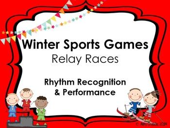 Winter Sports: Rhythm Relay Racing