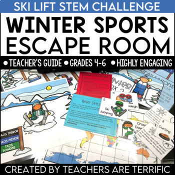 Escape Room Quest featuring Winter Sports