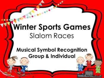 Winter Sports: Slalom Symbol Races