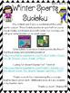 Winter Sports Sudoku Puzzle Bundle (Winter Games / Winter Olympics)