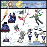 Winter Sports Super Clip Art Pack {Messare Clips and Design}