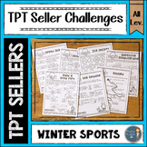 Winter Sports TPT Seller Challenges