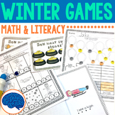 Winter Games for  Pre-k to KG (word wall, write the room, etc)