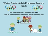 Winter Sports Verbs and Pronouns Practice #warmupwithsped1