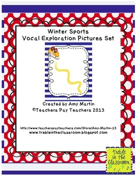 Winter Sports Vocal Exploration Cards
