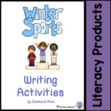 Winter Sports Writing Activities