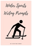 Winter Sports Writing Prompts