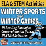 Winter Sports and Winter Games Activity Bundle