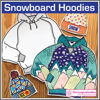 Winter Sports coloring pages, fun art activities and decor