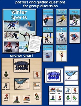 Winter Sports: hockey, skiing, luge, figure skating...