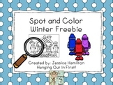 Winter Spot and Color Freebie