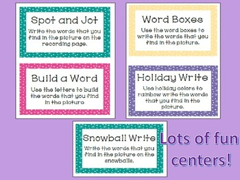 Winter Spot and Jot - Fry Words 101-200