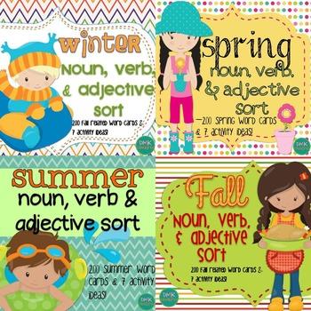 Winter spring fall summer noun verb adjective sort by dmk winter spring fall summer noun verb adjective sort stopboris Choice Image