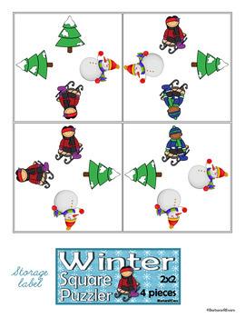 WINTER: Winter Activities, Winter Math Center, Winter Critical Thinking