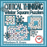 CRITICAL THINKING PUZZLES Winter Activity Brain Teasers Differentiation GATE