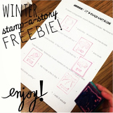 Winter Stamp-a-Story FREEBIE