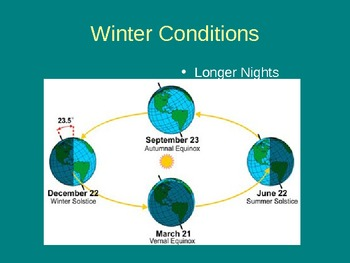 Winter Stars (Constellations, seasons, astronomy)