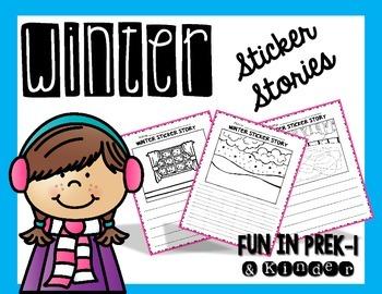 Winter Sticker Stories