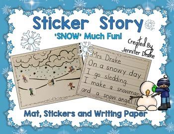 Winter Sticker Story