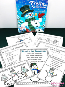 Winter Stories Activities Bundle