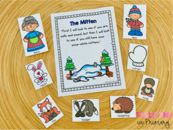 Winter Stories Activities Bundle