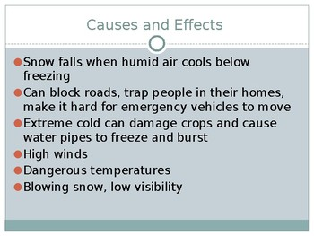 Winter Storms PowerPoint