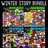Winter Clipart Story Bundle {Creative Clips Clipart}