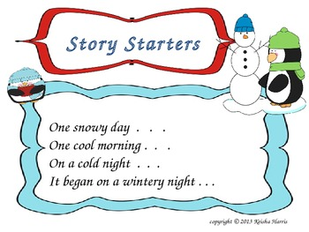 Winter Story Creations