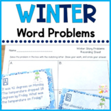 Winter Story Problems