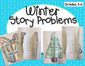 Winter Story Problems: Multiply & Divide