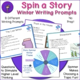 Winter Story Spinner - Writing Prompts and Discussion Topics