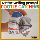 Story Tellers!  Hands on Picture Writing Prompt Cootie Catchers for Winter