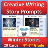 Winter Story Starters Photo Creative Writing Prompts