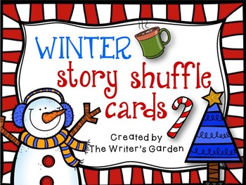 Winter Holidays Creative Writing: Story Shuffle Cards and Packet Materials