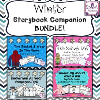 Winter Storybook Companions BUNDLE