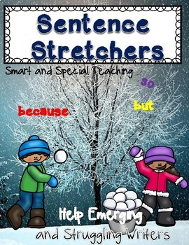Winter Sentence Building (Hochman Writing Inspired)