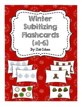 Winter Subitzing Flashcards