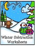 Winter Subtraction 0-10