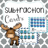 Winter Subtraction Cards